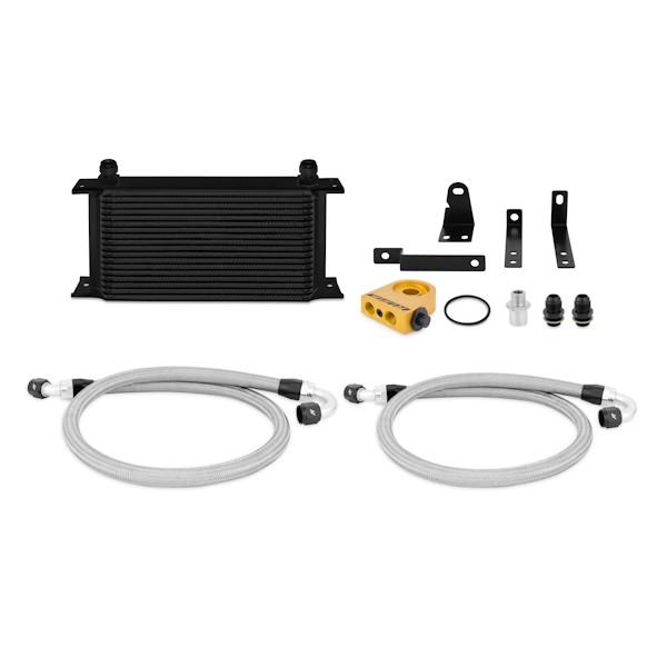 2000-2009 Honda S2000 Thermostatic Oil Cooler Kit, Black
