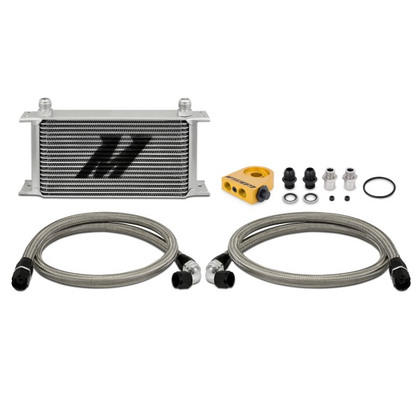 Universal Thermostatic 19 Row Oil Cooler Kit