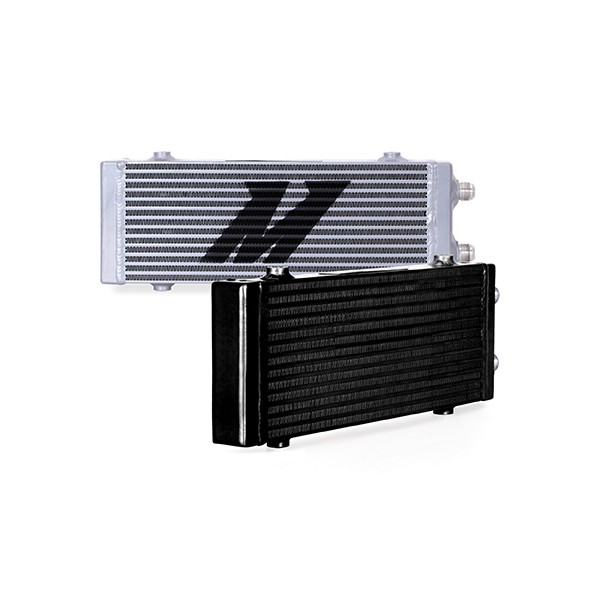 Universal Dual Pass Bar & Plate Oil Cooler, Medium