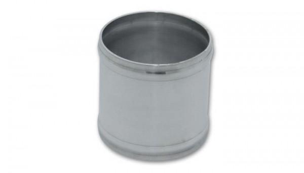 "Vibrant Aluminium Rohrverbinder 2,5"" 63,5mm für Silikon Schlauch Länge: 3"" 76mm"