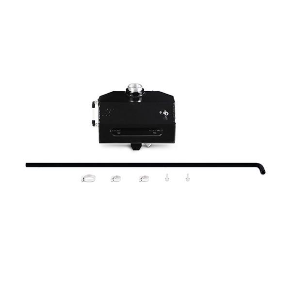 Ford Mustang EcoBoost/V6/V8 Aluminum Coolant Expansion Tank, 2015+ Black