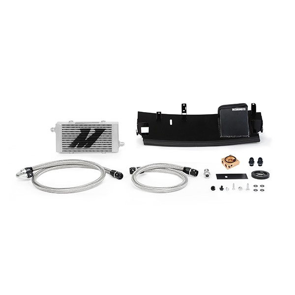 Ford Focus RS Oil Cooler, 2016+, Silver, Thermostatic