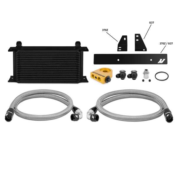 Nissan 370Z, 2009+ / Infiniti G37, 2008+ (Coupe only) Thermostatic Oil Cooler Kit