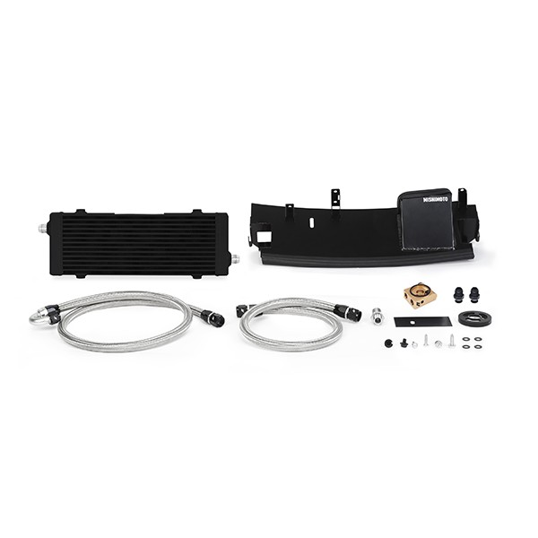 Ford Focus RS Oil Cooler, 2016+, Black, Thermostatic
