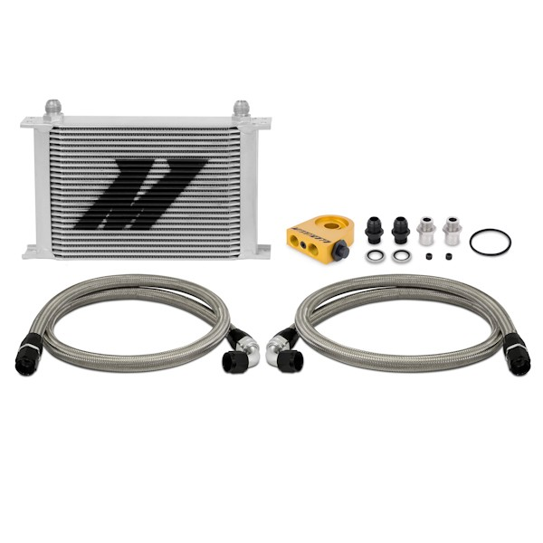 Universal Thermostatic Oil Cooler Kit, 25 Row