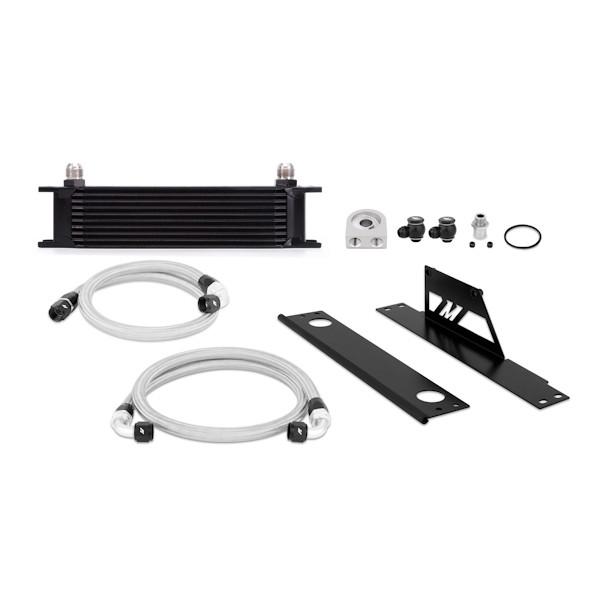 2001-2005 Subaru WRX and STI Oil Cooler Kit, Black