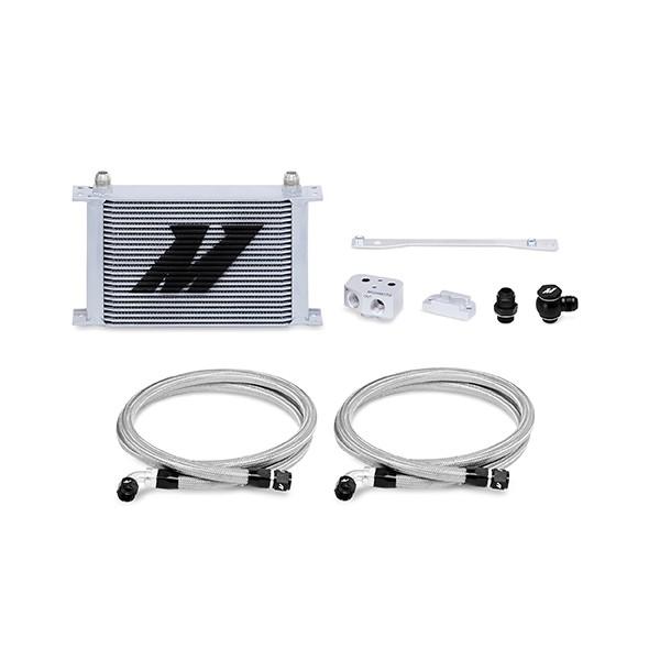Mishimoto LS1/LS2 Front-Sump Race Oil Cooler Kit, Silver