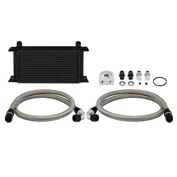 Mishimoto Universal Ölkühler Kit 19-reihig Schwarz